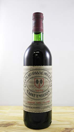 Vino Cosecha 1975 Château Pavie Macquin Botella
