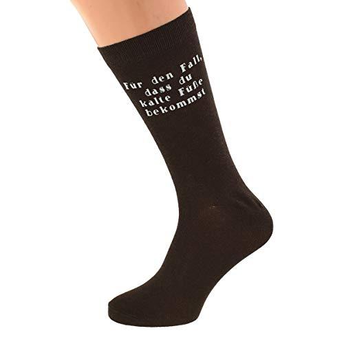 Great Stuff Socken Hochzeit Bräutigam Für den Fall dass du kalte Füße bekommst Hochzeitssocken Morgengabe Geschenk Idee
