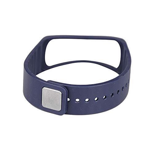 AchidistviQ Ersatz-Armbanduhr Armband für Samsung Galaxy Gear Fit R350 Navy Blue