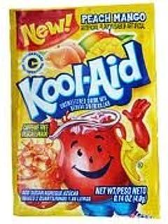 Kool Aid Powdered Packets - Peach Mango - 45 Envelopes