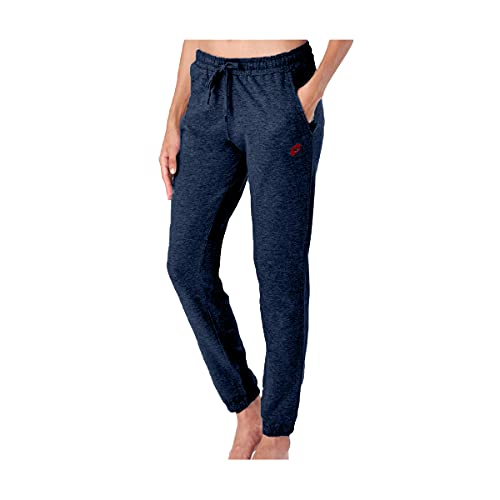 Lotto pantalone tuta donna in felpa ESTIVA, offerta per 1-2 pezzi, pantaloni felpa donna leggeri (1 PEZZO BLU, M)