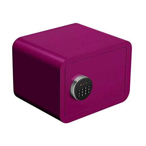 LHSUNTA - Caja de Seguridad electrónica para Llaves (35 x 25 x 25 cm), Color Rosa