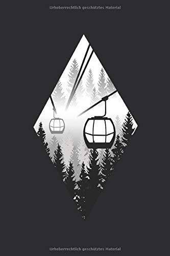 Ski Fahren Notizbuch: Ein perfektes Geschenk für Ski Fahrer und Snowboarder