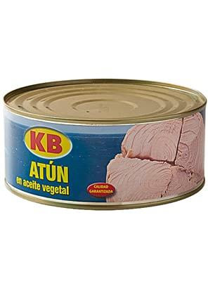 KB – Tonijn in zonnebloemolie kofferbak Ro-1000 glutenvrij 900g