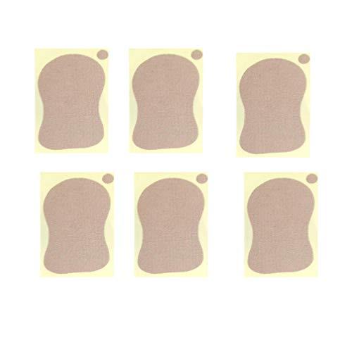 Supvox 10 Stücke Achselpads Waschbar Schweißpads Saugfähige Achsel Schweiß Pads gegen Schweißflecken und Geruch für Damen Männer Unterarm Achselhöhlen Pads