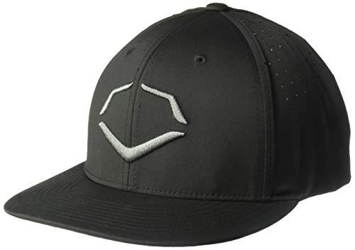 Wilson Sporting Goods Evoshield Tourney evolite Flexfit Sombrero, Mujer Unisex Hombre, WTV1036460, Negro, L-XL