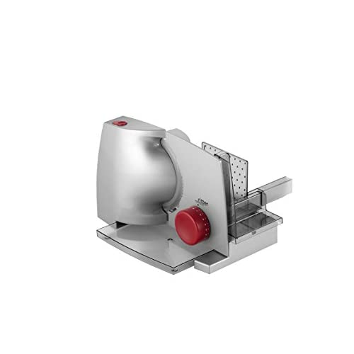 Affettatrice ritter compact 1, rosso, affettatrice elettrica con motore ECO, made in Germany