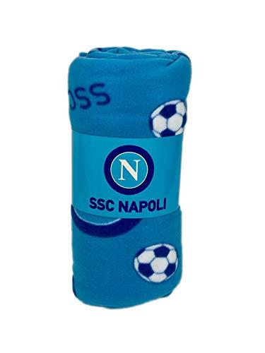SSC Napoli Fleece-Decke, Neapel Italien Tagesdecke/Kuscheldecke riesig 240cm lang