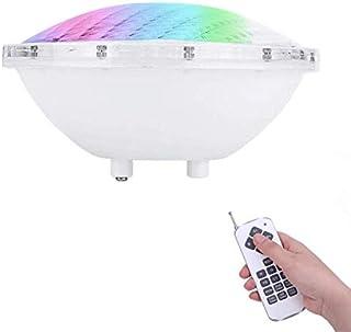 COOLWEST RGBW Iluminación de piscinas LED 36W PAR56 Luces de la piscina 12V con Control Remoto Reemplazar bombillas halógenas de 250W, Luminarias subacuáticas IP68 Impermeable