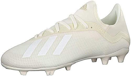 adidas X 18.3 FG, Zapatillas de Fútbol Hombre, Blanco (Off White/FTWR White/Core Black), 40 2/3 EU