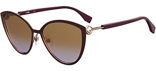 FENDI FF 0413/S Gafas, FG4, 60 para Mujer