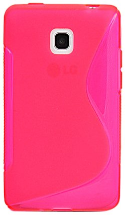 Katinkas Soft Cover for LG Optimus L3 II, Wave, Pink