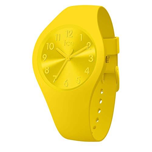Ice-Watch - ICE colour Citrus - Reloj giallo para Mujer con Correa de silicona - 017908 (Small)