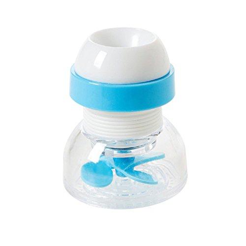 Klok Huishoudelijke Kraan Splash Douche Tap Filter Keuken benodigdheden Water Filter Mondstuk Filter Waterbesparend Apparaat (3St)