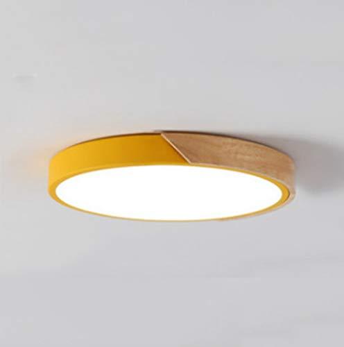 The only Good Quality binnenlamp voor kinderen jongens en meisjes van hout slaapkamer woonkamer plafond van Nordic hout met draagkracht macaronlampen demping Stepless