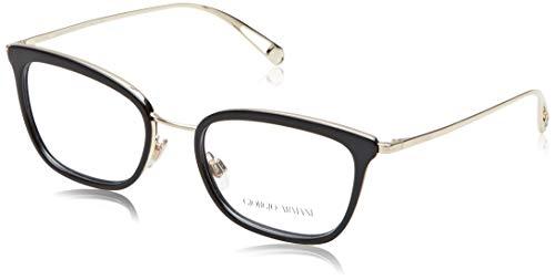 Giorgio Armani Damen 0AR5078 Brillengestelle, Schwarz (Black), 52