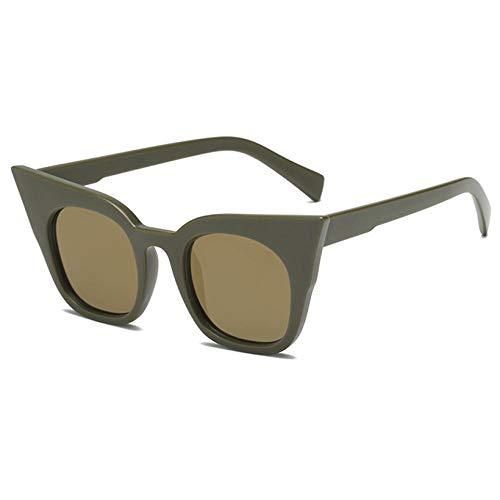 Gafas De Sol Hombre Mujeres Ciclismo Gafas De Sol Mujer Gradiente Gafas De Sol Mujer Vintage Sunglass Eyewear-Green_Child