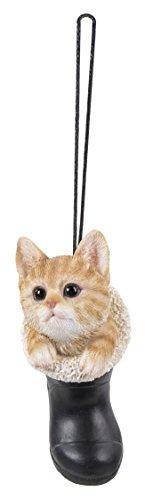 Hanging Pet Pals Vivid Arts Pet Pals – à suspendre – à suspendre RJM Chaton Roux (Hpp-w80-g)