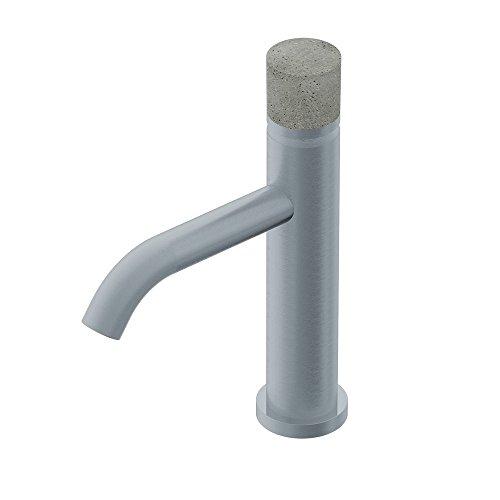 Miscelatore senza leva per lavabo E0BA0123CICM Diametro35 Concrete Ritmonio