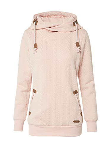 Hailys Damen Sweatshirt Janette rosé XXL