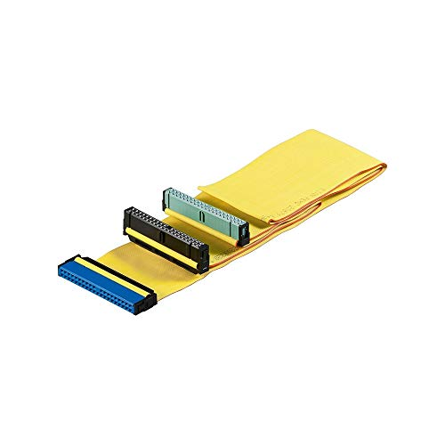 Wentronic HDD IDE Kabel für Ultra ATA Festplatten bis 133 Mbps 0,6m gelb