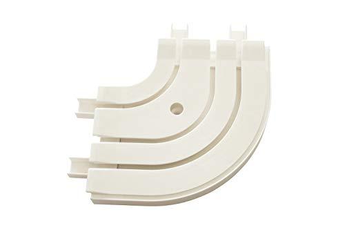 Gardinia Rundbogen GE3 für Verlängerung weiß 13,5/13,5 cm, 13.5/13.5 cm