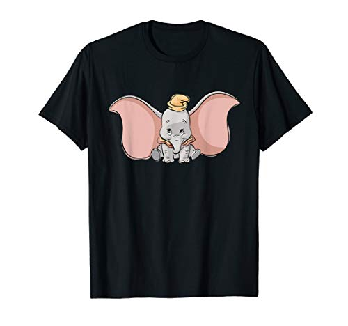 Disney Classic Dumbo Cute Baby Elephant T-Shirt
