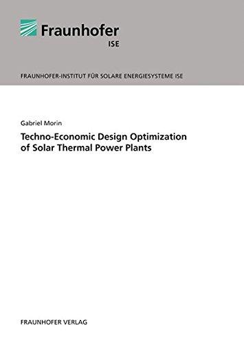 Techno-Economic Design Optimization of Solar Thermal Power Plants.
