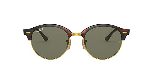 Ray-Ban Clubround Gafas de sol, Red Havana, 51 Unisex-Adulto