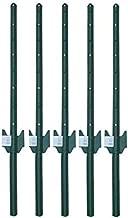 MTB Fence Post Sturdy Duty Fence U Post 3 Feet, Pack of 5…