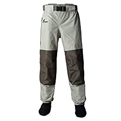 8 Fans Men's Fishing Waist Waders - Best Wading Pants