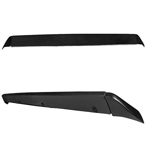 TKMD Tailgate Cap for 99-06 Chevy Silverado Sierra Tailgate Cover Intimidator Spoiler Top Protector Wing SS Polyurethane