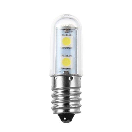 Mini E14 1W 7 LED 5050 SMD Naturaleza / Luz blanca cálida para máquina de coser Lámpara de refrigerador 110V / 220V Bombilla LED