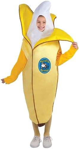 Tu satisfacción es nuestro objetivo Forum Novelties Fruits and Veggies Veggies Veggies Collection - Disfraz Infantil de plátano, tamaño Mediano  tienda de venta