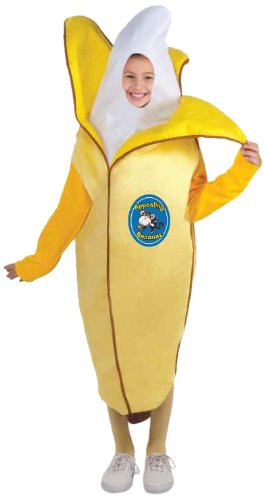Banana Child Costume, Medium