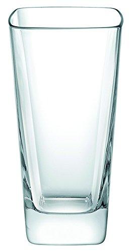 Borgonovo Palladio Juego de 6 Vasos de Vidrio, 420 ml