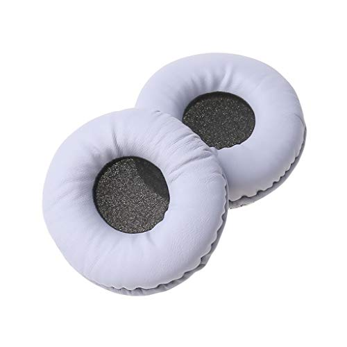 MALLdor 1Pair Soft Foam Ear Pads Earpads Cushion Cover Compatible with WH-CH500 MDR-ZX330BT Headset