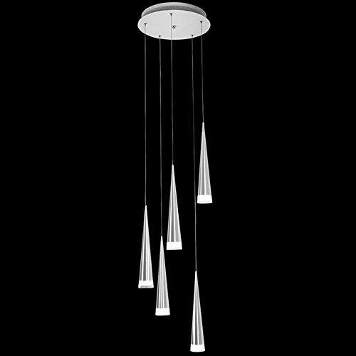 LightInTheBox Max 5W Pendant Light Modern Chrome Chandeliers Ceiling Lighting Fixture