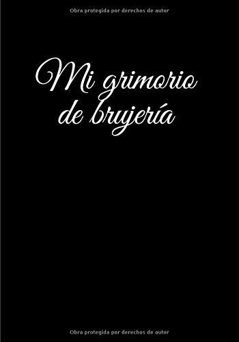 Mi grimorio de brujería: grimoire virgen | grimoire de magia verde | grimoire de magia negra | libro de sombras wicca | libro de brujería