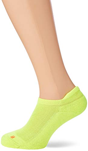 FALKE Unisex Sneakersocken Cool Kick - Funktionsfaser, 1 Paar, Gelb (Lightning 1690), Größe: 39-41