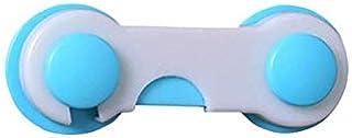 قفل امان متعدد الوظائف لحماية الاطفال يوضع بباب خزانة الاطفال والادراج والثلاجات والمرحاض