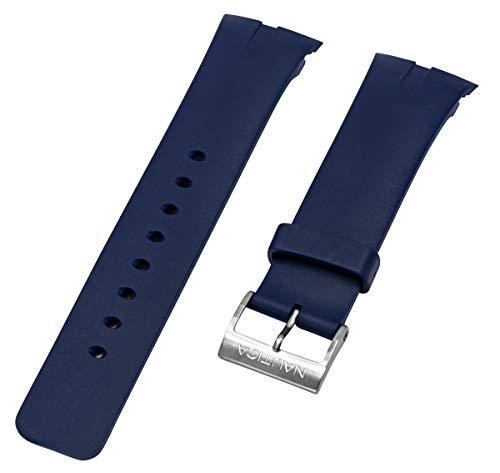 Nautica N16535G A16535G NSR 01 - Cronografo in resina blu, ricambio originale