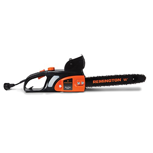 Remington RM1645 Versa Saw 12 Amp 16-Inch Electric Chainsaw with Automatic Chain with Auto Oiler-Soft-Touch Grip and Hand Guard, 32.80 x 9.80 x 8.80, Orange