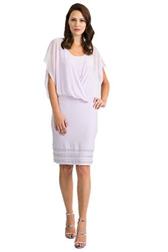 Joseph Ribkoff Lavender Dress Style 201166 - Spring 2020 Collection (14)