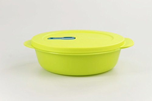 TUPPERWARE Mikrowelle CrystalWave 1,0 L limette Mikro Micro Wave Pop Plus Fix