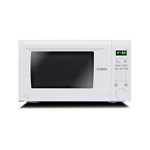 Tower KOR1N0AT Family-Size Touch Control Digital Microwave...