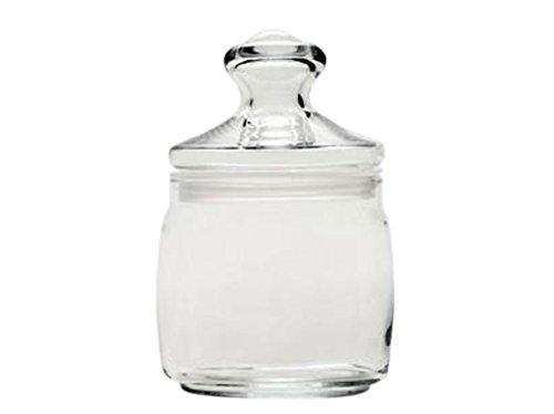 Dajar glazen container Cesni met deksel 400ml Pasabahce, glas