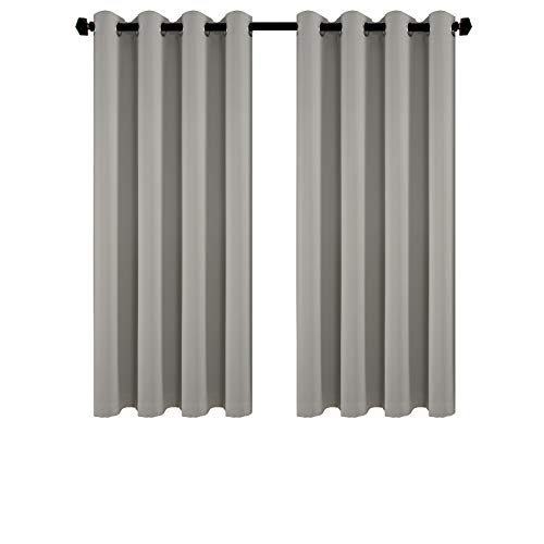 iMINO Room Darkening Livingroom Curtains,Noise Cancelling Thermal Insulated...