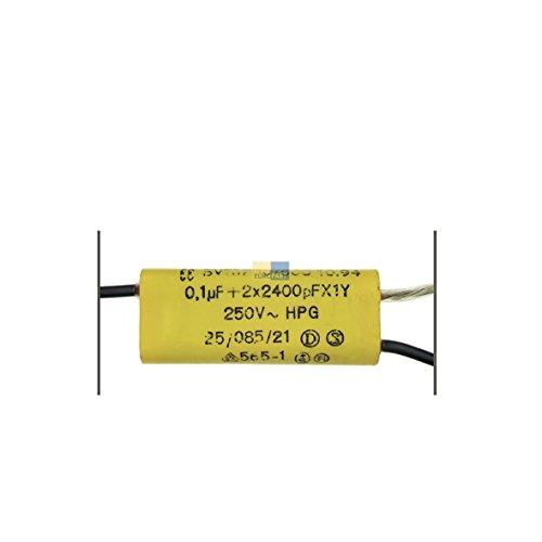 Entstörschutz Kondensator Störschutzfilter 0,1µF Kleingeräte BV 16200/500