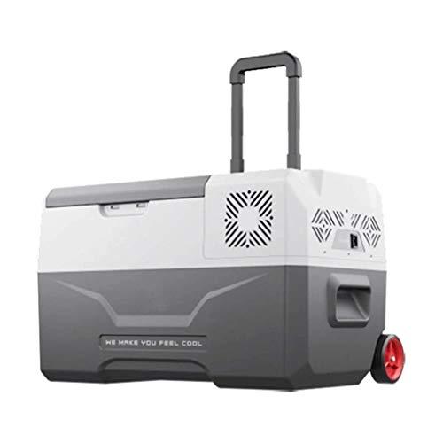 Al aire libre Refrigerador de coches, 30L de gran capacidad del compresor de doble propósito for Refrigeración y formación de hielo, de ocasión for coches, Familias, Camping, camiones Reuniones